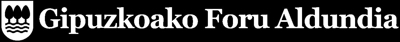 Logotipo de la Diputación Foral de Gipuzkoa. Abre el sitio web de la Diputación Foral de Gipuzkoa en una nueva ventana.