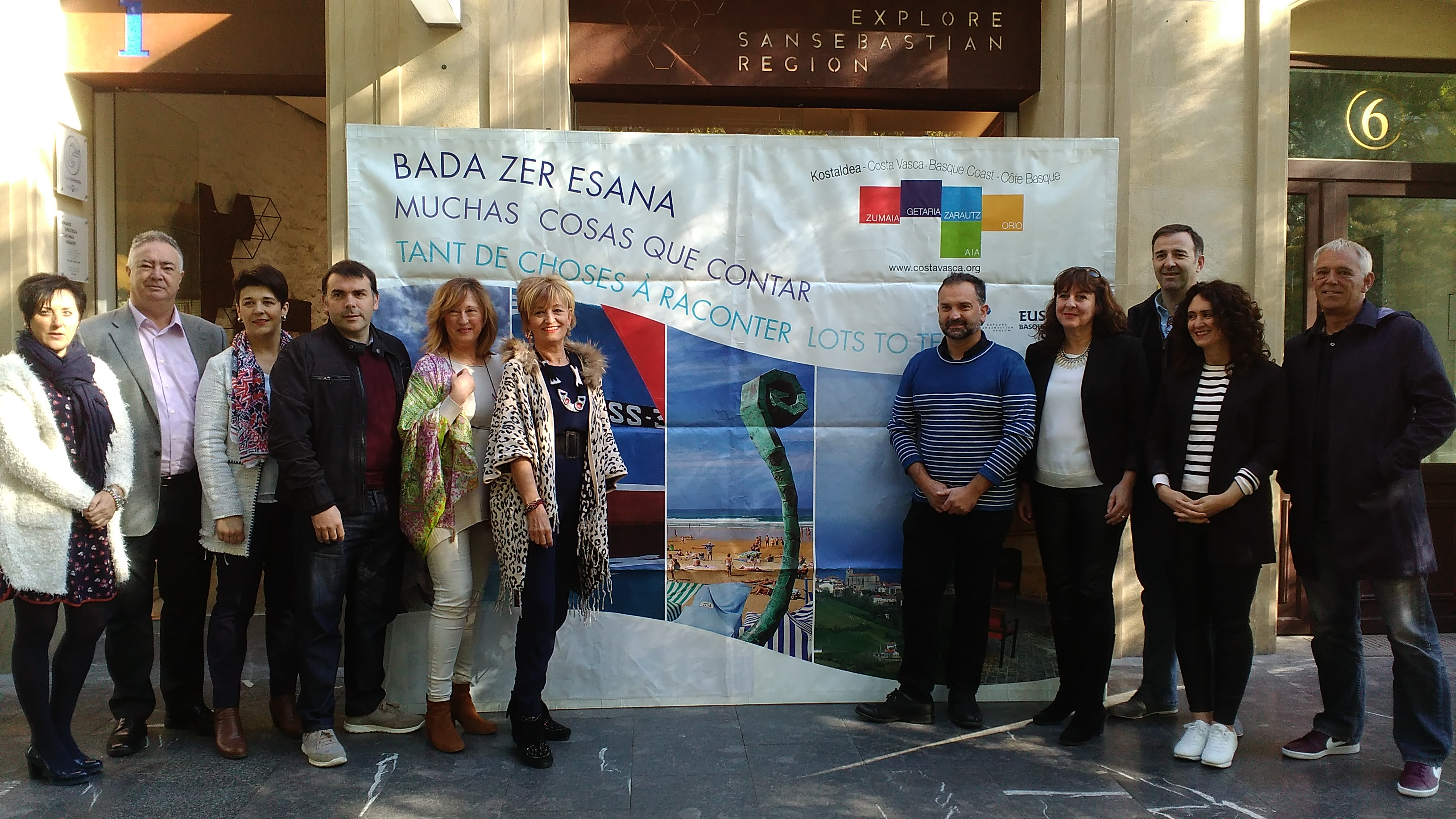 Urola kosta estar presente en la oficina de turismo for Oficina turismo zumaia