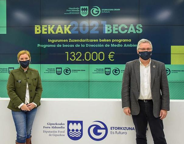Medio Ambiente destina más de 130.000 euros para becas de investigación -  Artikulua - Gipuzkoa ETORKIZUNA ORAIN