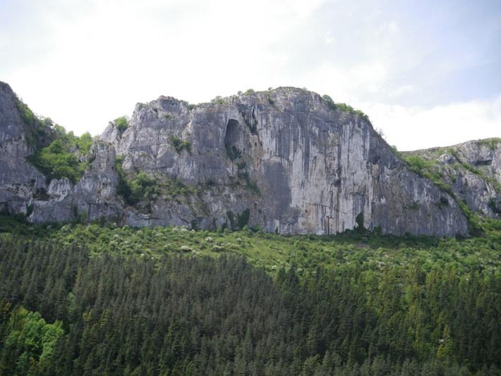 Imagen del parque natural de Aizkorri