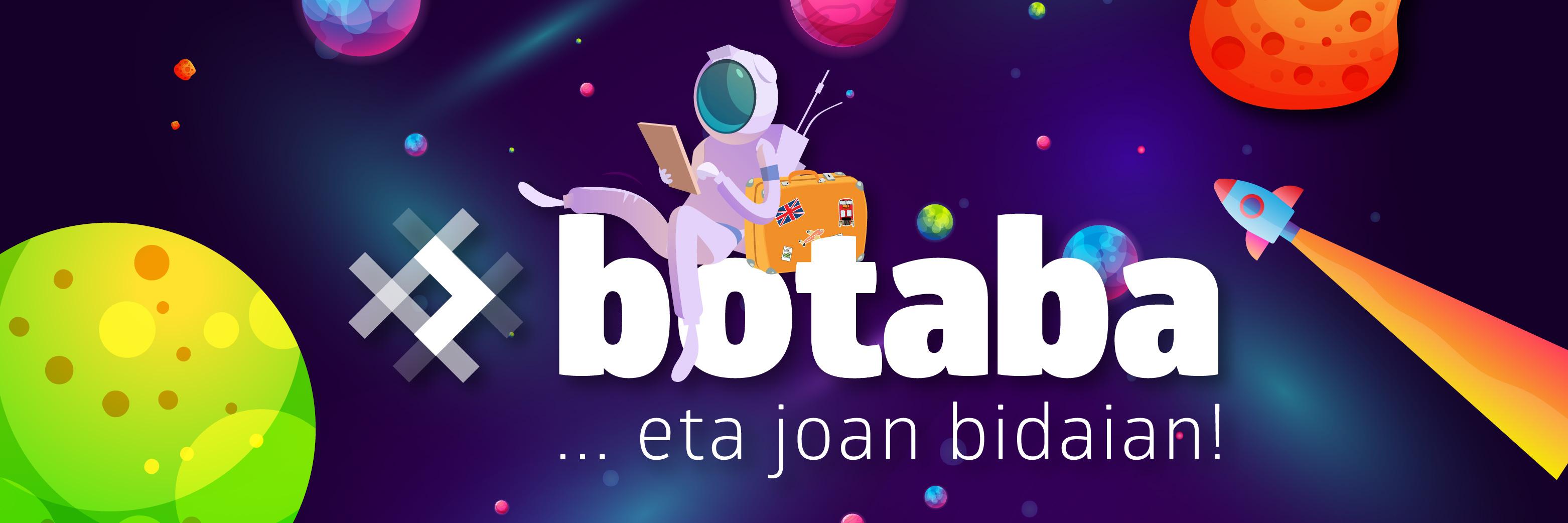 -ren irudia #botaba, euskal esamoldeekin jolasteko lehiaketa